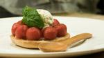 Tartelette de tomates cerises