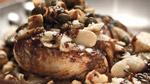 Morue charbonnière au beurre noisette et caviar d'aubergine