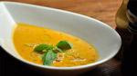 Crème de tomates et carottes à l'anis étoilé