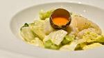 Ceviche de pétoncles à la salade crémeuse