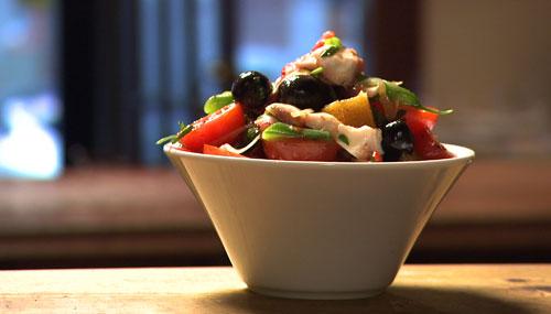 Salade de pieuvre