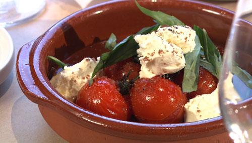Tomates sur vignes