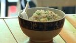 Riz frit au gingembre ou riz de la femme enceinte