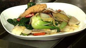 Sauté de légumes asiatiques