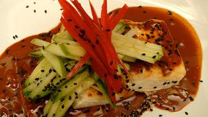 Tofu poêlé sauce sésame