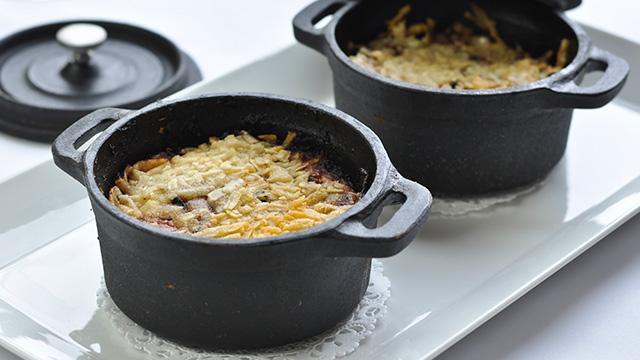 Gratin de légumes au fromage Alfred le Fermier
