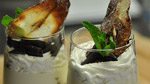 Verrine de mascarpone à la poire