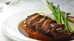 Magret de canard farci au foie gras et à la truffe