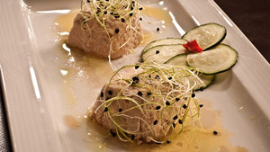 Mousseline de saumon