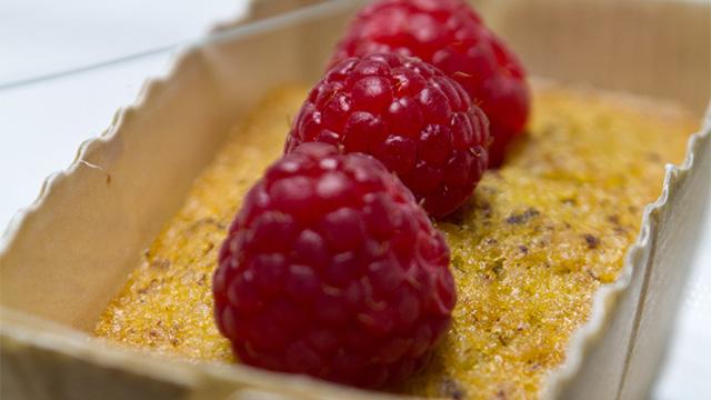 Pâte à cakes à la framboise