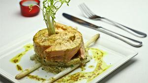 Roulade de saumon mariné aux épices Lo Ré