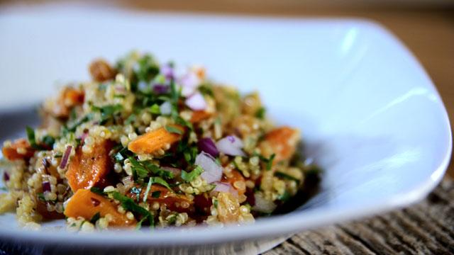recette salade de carottes r ties l orange et au. Black Bedroom Furniture Sets. Home Design Ideas