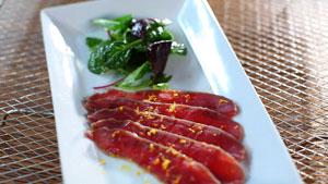 Jambon de bœuf aux agrumes
