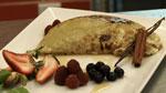Omelette soufflée pomme et cannelle
