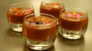 Mousse au chocolat délirante