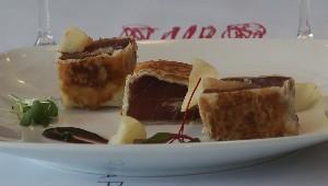 Croustillants de thon poire et sésame
