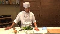 Bar grillé, sauce yuzu-miso
