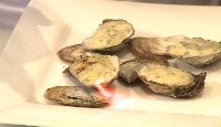 Gratin d'huîtres sauce miso