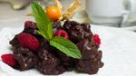 Rochers au chocolat praliné