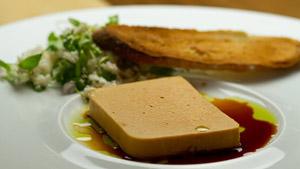 Mousse de foies de lotte