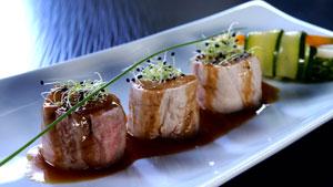 Filet de porc Nagano au caramel de beurre salé